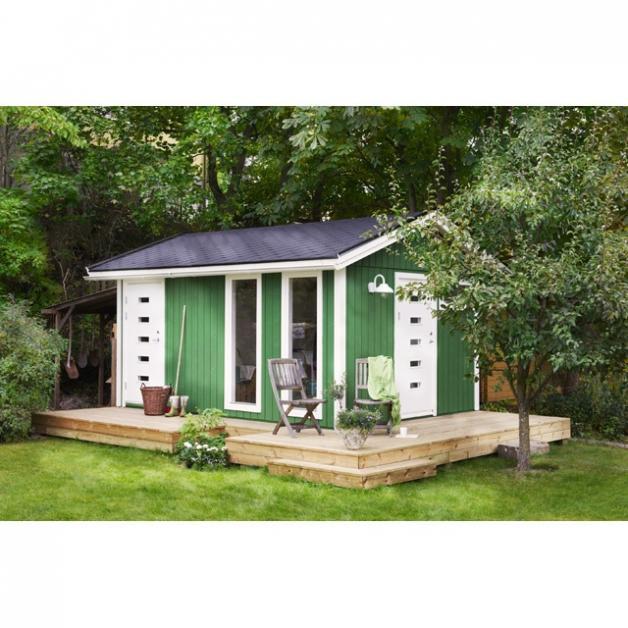 Conseils pour construire son abri de jardin en bois m tal ou pvc for Comfabriquer son abri bois