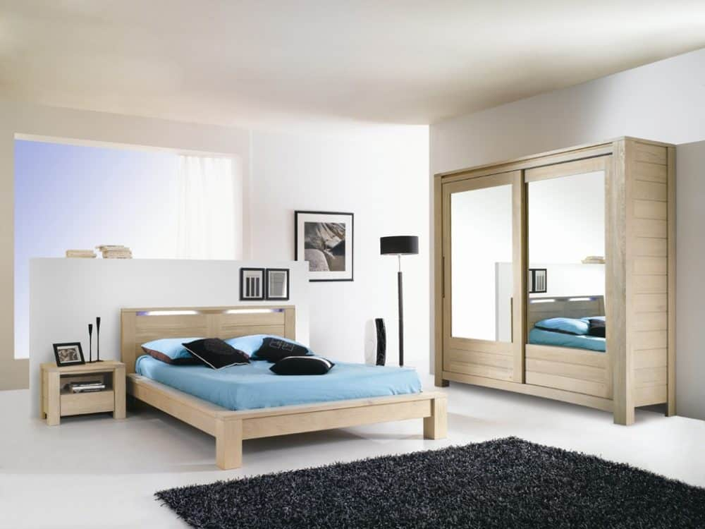 chambre a coucher romantique pr l vement d. Black Bedroom Furniture Sets. Home Design Ideas