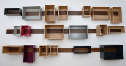 4 objets r cup pour des tag res originales - Faire des etageres en bois ...