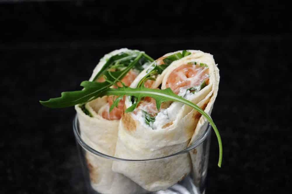 4 recettes faciles de wraps - Idee garniture wrap ...