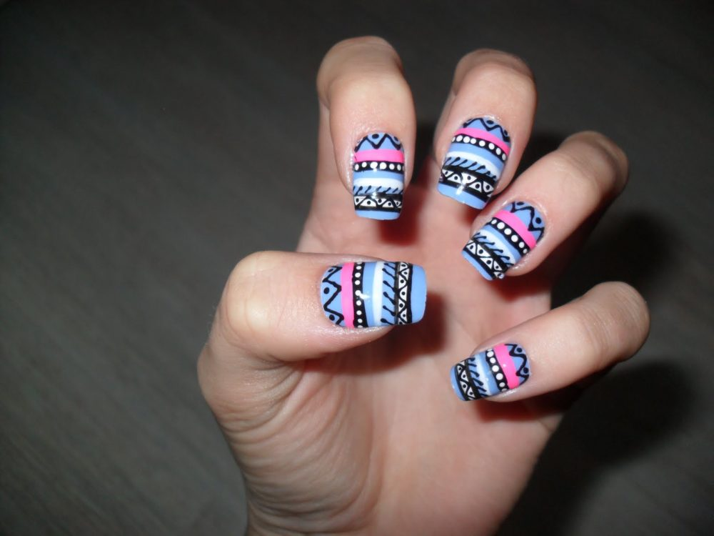 Cute Aztec Designs Cute Aztec Nail Designs