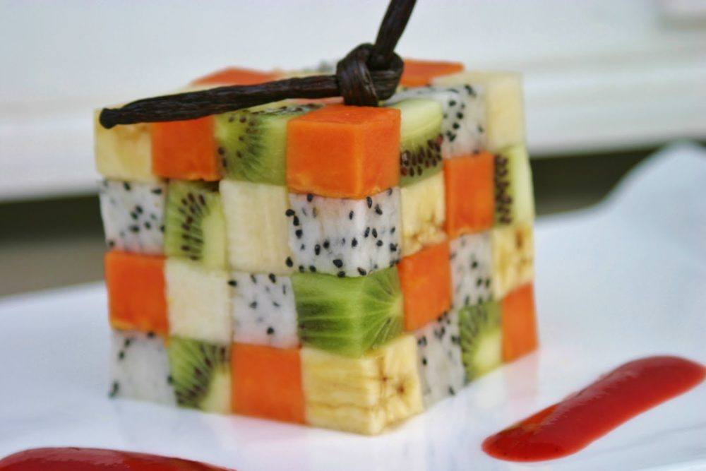 Fruit du dragon les 3 vertus sant du pitaya - Appareil pour couper les legumes en cube ...