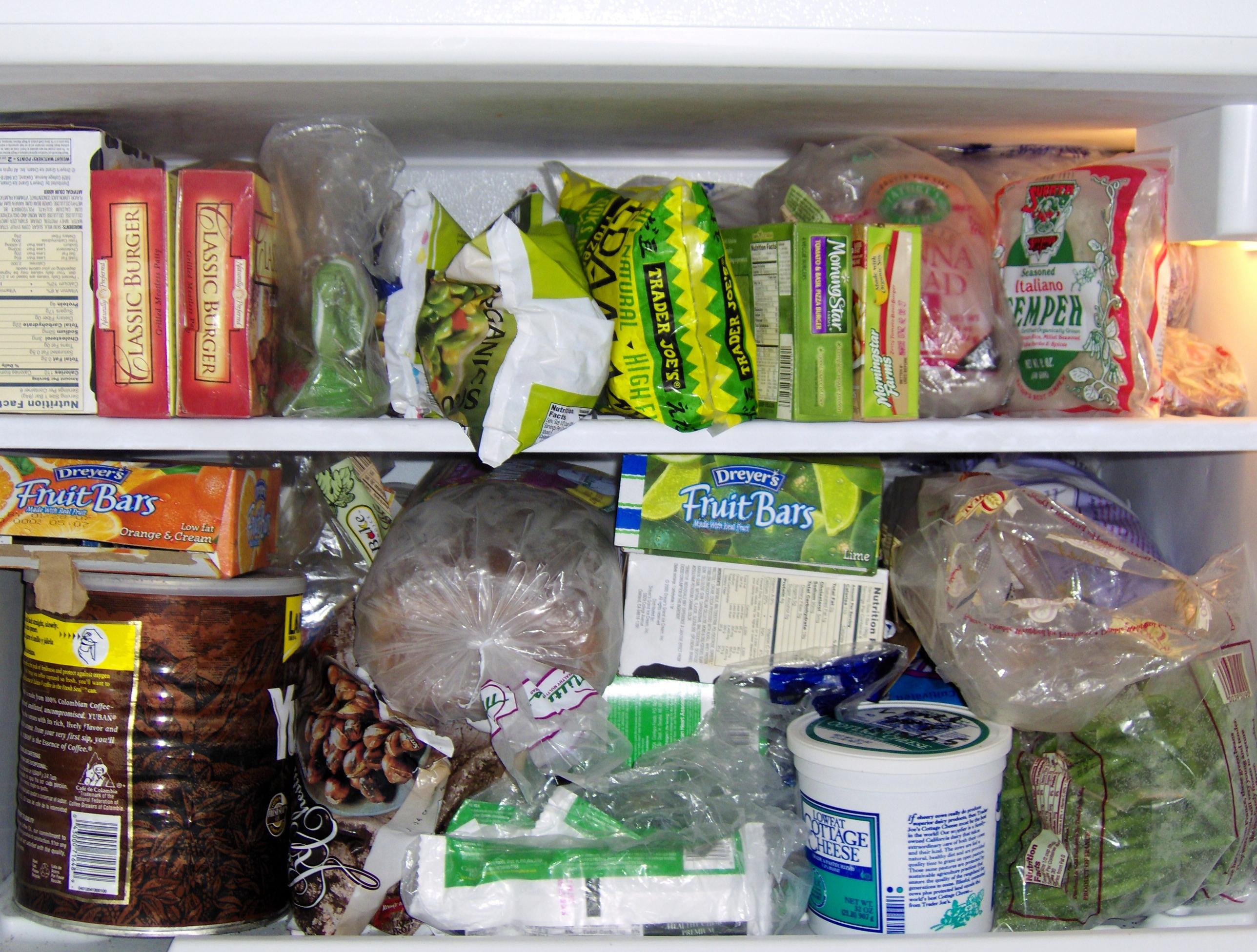 4 Aliments à ne pas congeler 8