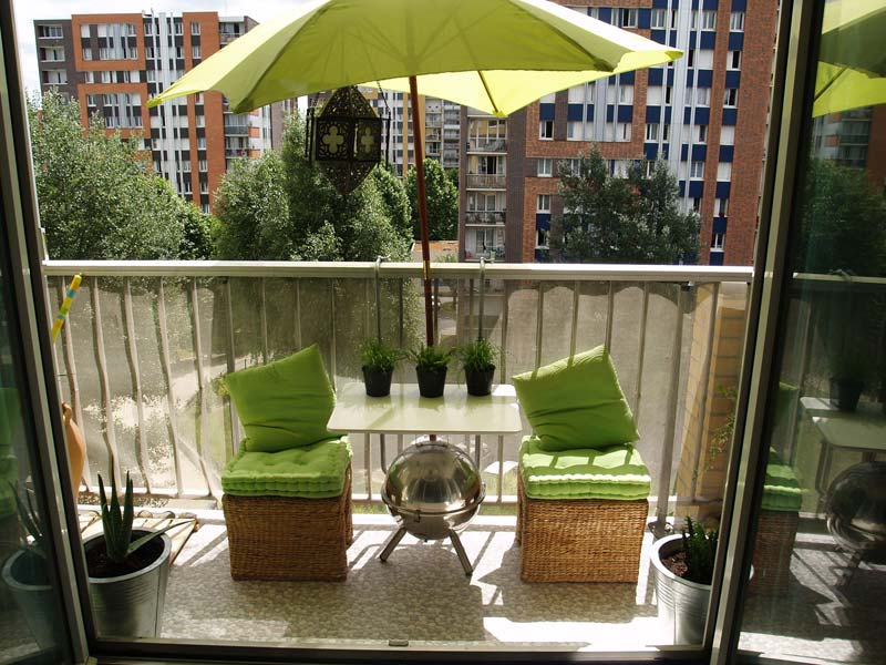 Amenagement Balcon Filant. Amazing Comment Amenager Un Balcon Filant ...