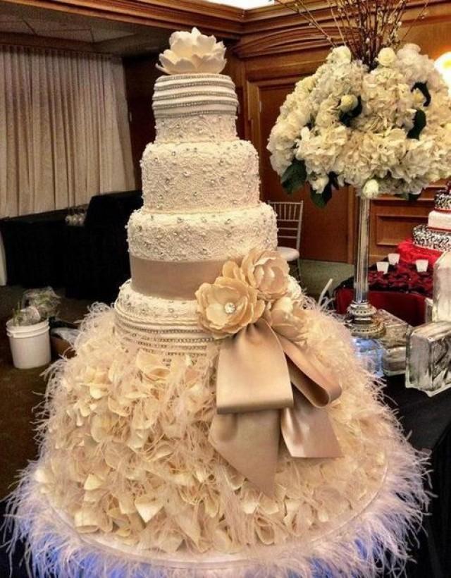 30 Gâteaux De Mariages Mémorables