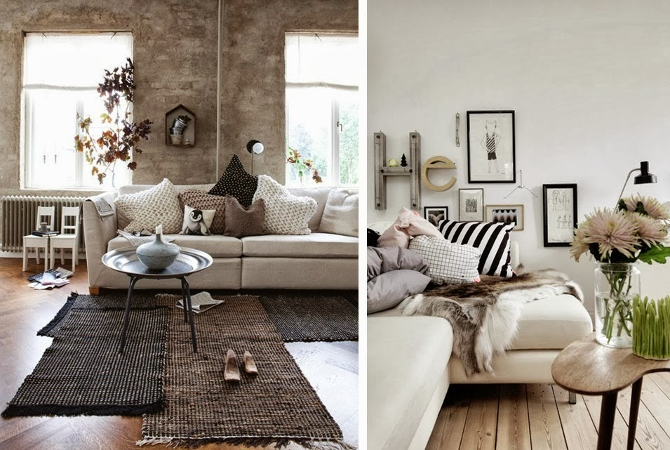 D co appartement cocooning for Decoration style scandinave