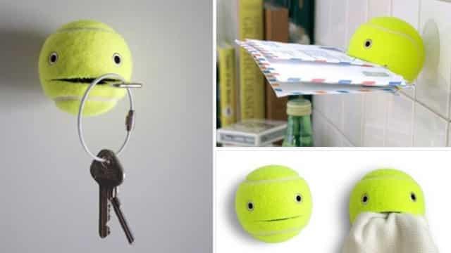 Extrêmement 4 idées pour recycler une balle de tennis VD79