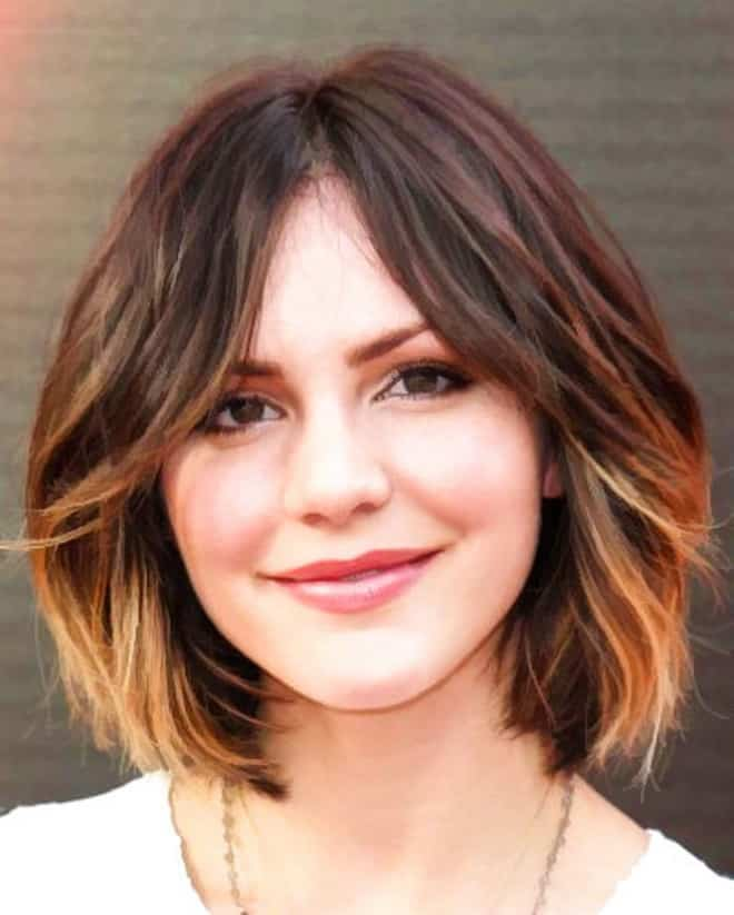 Feed Pictures - Bob Hairstyle With Dark Brown Hair Color And With Full ...