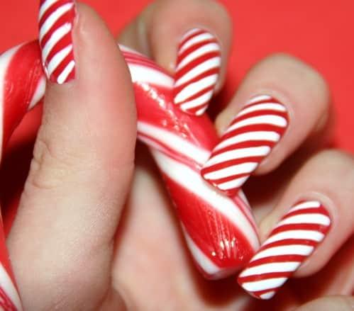 nail art facile pour noel