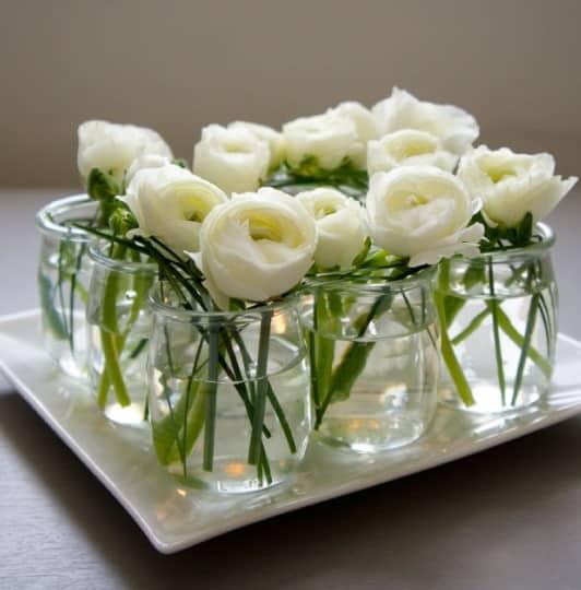 4 id es pour recycler des pots de yaourt en verre. Black Bedroom Furniture Sets. Home Design Ideas