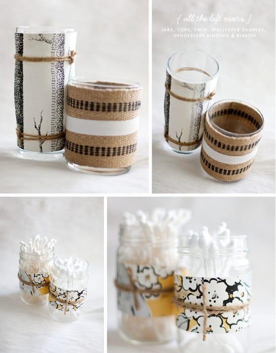 Bien connu 4 idées pour recycler des pots de yaourt en verre JQ52