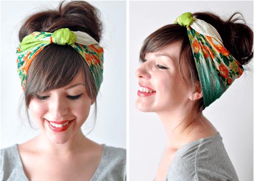 18 façons girly de nouer une écharpe 6