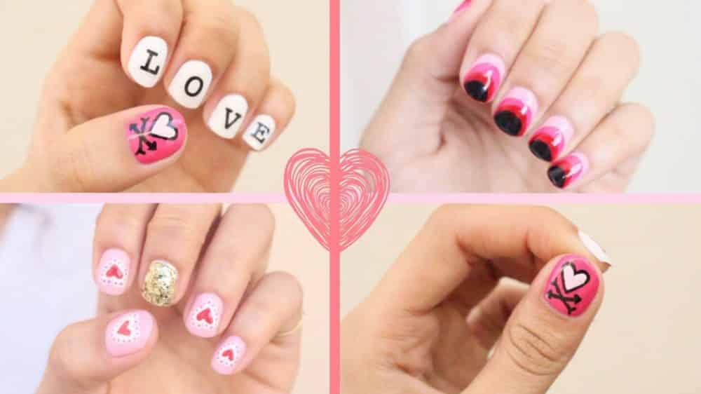 7 idées de nail art pour la saint-valentin 1