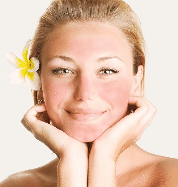 4 solutions efficaces pour att nuer les rougeurs du visage. Black Bedroom Furniture Sets. Home Design Ideas