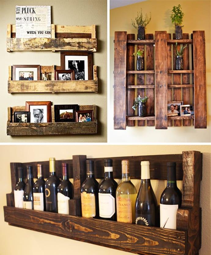 4 id es pour recycler des palettes en bois maison. Black Bedroom Furniture Sets. Home Design Ideas