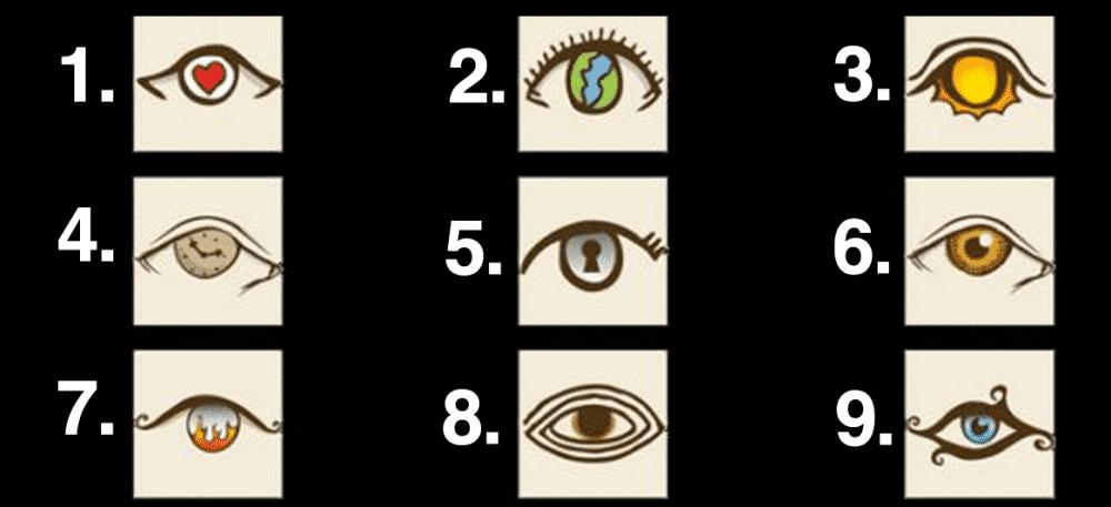 Choisissez un œil pour connaître ce qu'il révèle sur votre personnalité 8