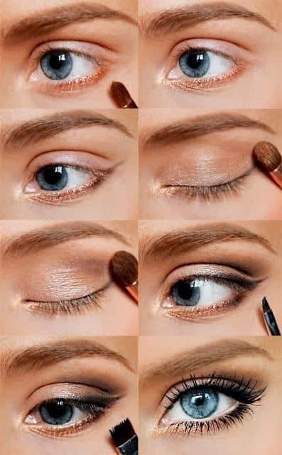 42 id es pour un maquillage des yeux magnifique - Make up yeux bleu ...