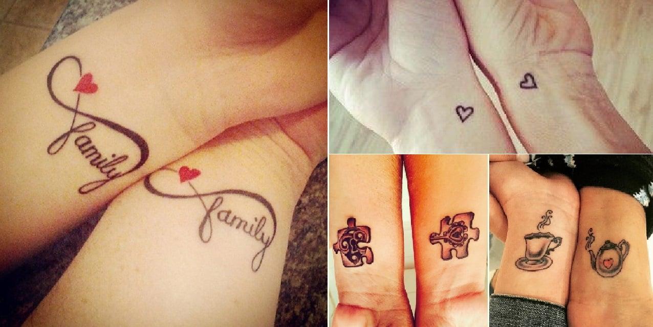 8 superbes idées de tatouage mère,fille pour un amour à jamais gravé dans  la peau !