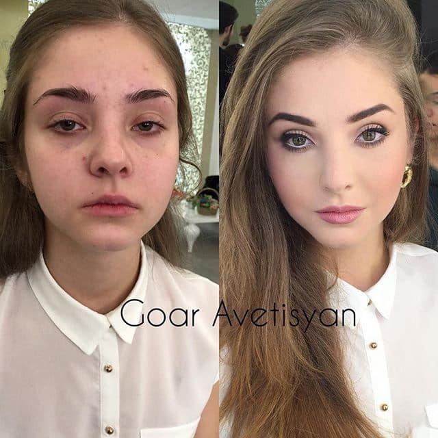 Découvrez à travers ces 19 photos avant/après le véritable pouvoir du maquillage ! 8