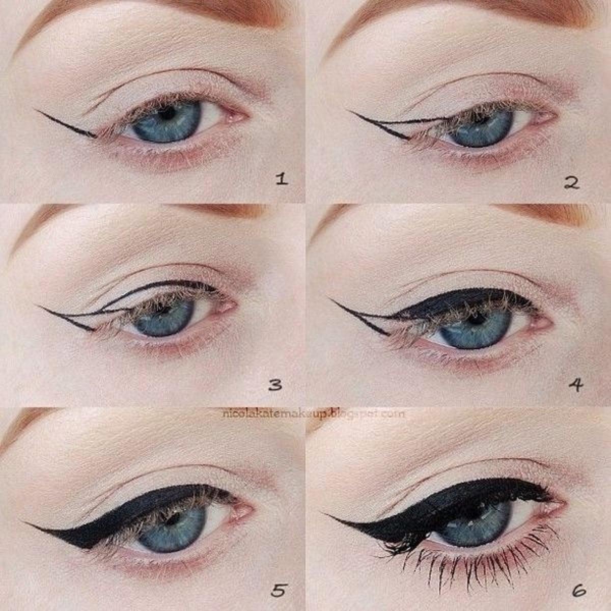 Стрелки на глазах : выбираем вариант для своего типа глаз и правильно 67