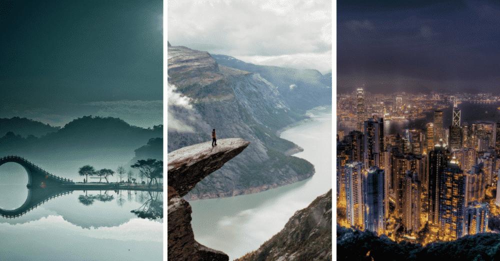 Ces 8 paysages sont à couper le souffle. À voir ! 8