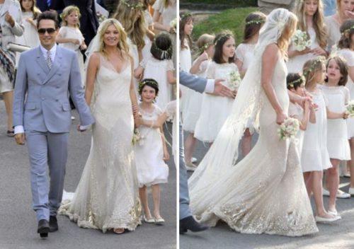 Robe de mariage kate moss for Robe de mariage de kate moss tomber