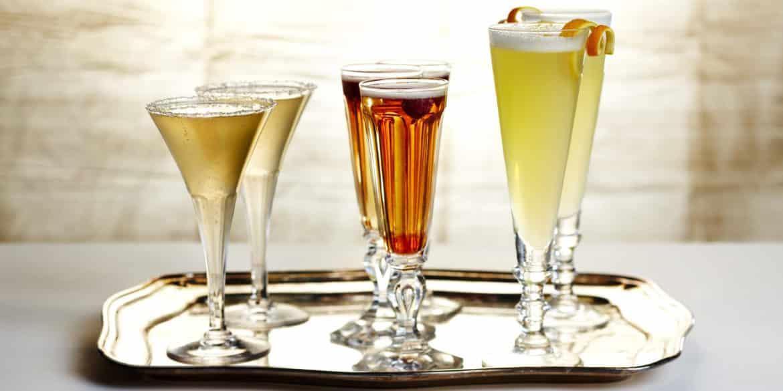 5 cocktails festifs au champagne for Cocktail au champagne