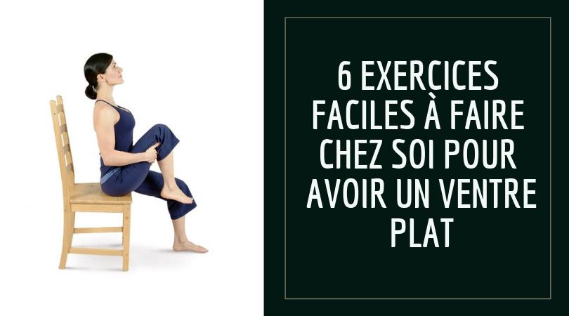 6 exercices faciles à faire chez vous pour avoir un ventre plat 12