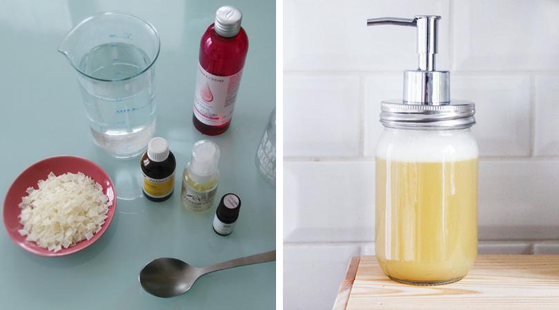 Fabriquez vous-même du savon liquide 6