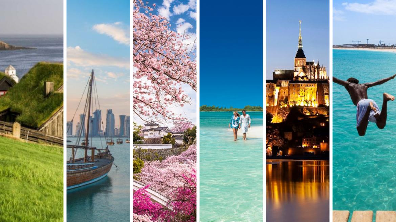 Top 6 des pays à visiter en 2019 1