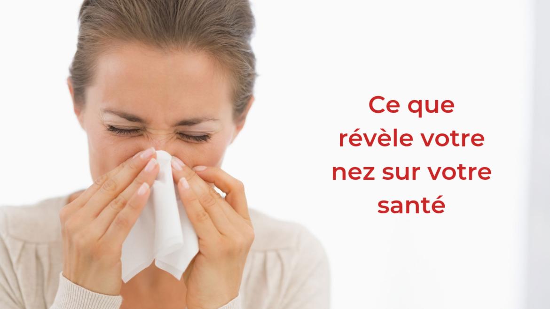 6 choses que révèle votre nez  sur votre santé 6
