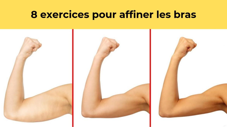 8 exercices pour éliminer la graisse des bras plus rapidement 9