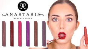Anastasia Beverly Hills sort l'encre à lèvres qui tient sous un masque 5